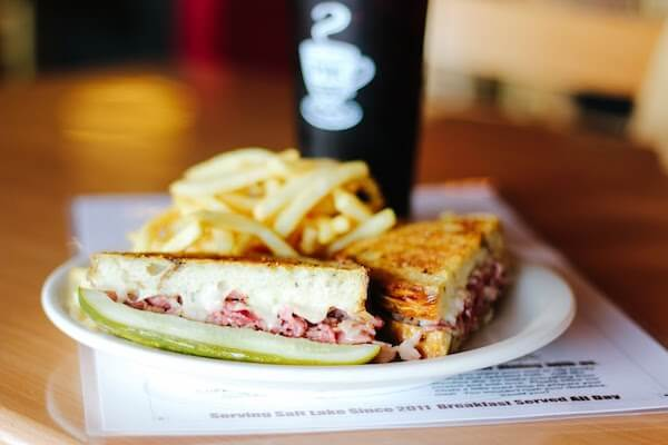 Rueben and fries